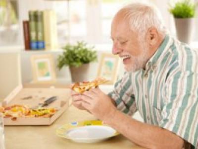 Повышение аппетита у пожилых людей