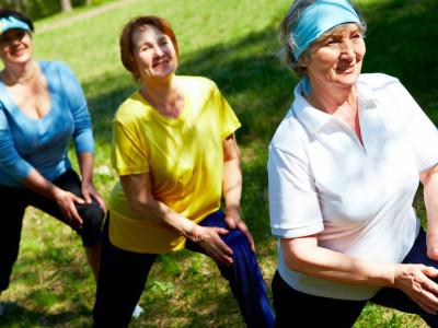 Как сохранить хорошую физическую форму в пожилом возрасте